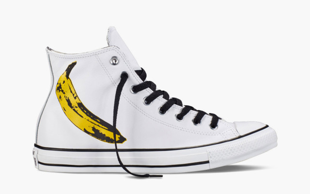 Andy Warhol, Converse e as Bananas