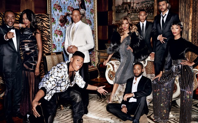 Cast do seriado Empire posa em editorial fashionista para Vogue