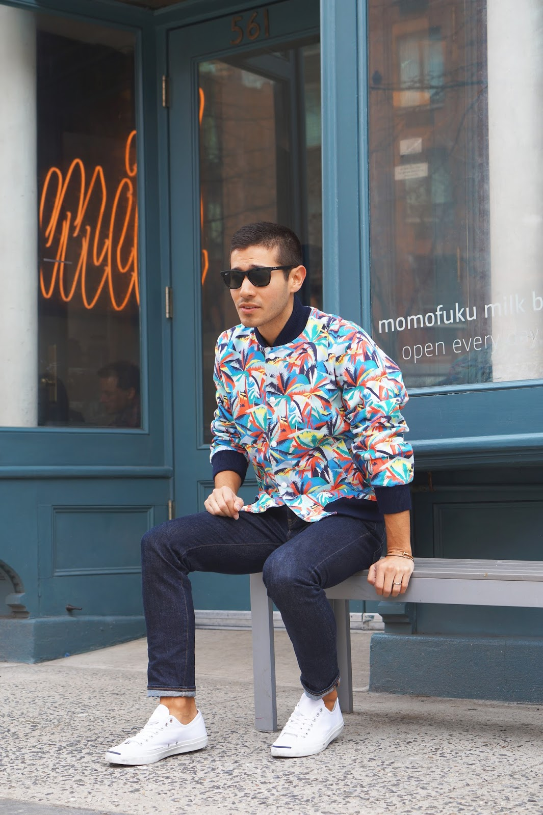 maison kitsune ss15 saul carrasco trend styled style blogger nyc 3