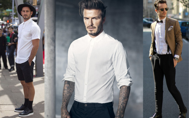 A Importância da Camisa Branca no Vestuário Masculino