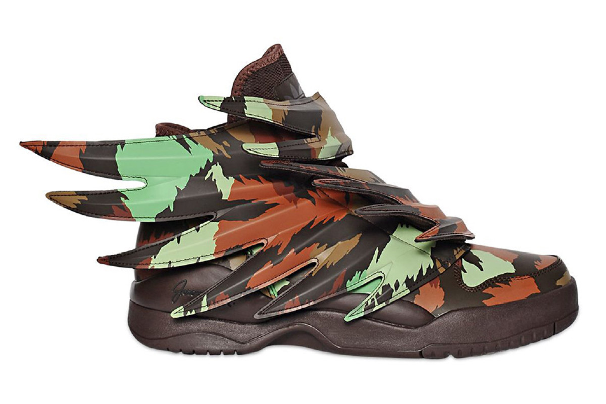 Jeremy Scott traz verão camuflada do Wings 3.0 com Adidas Originals