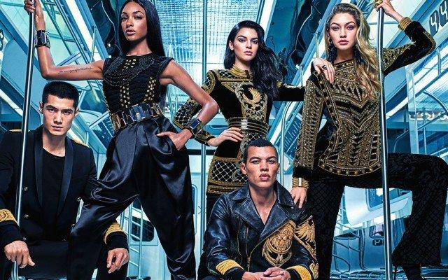 Balmain x H&M | Confira a campanha dessa incrível Parceria
