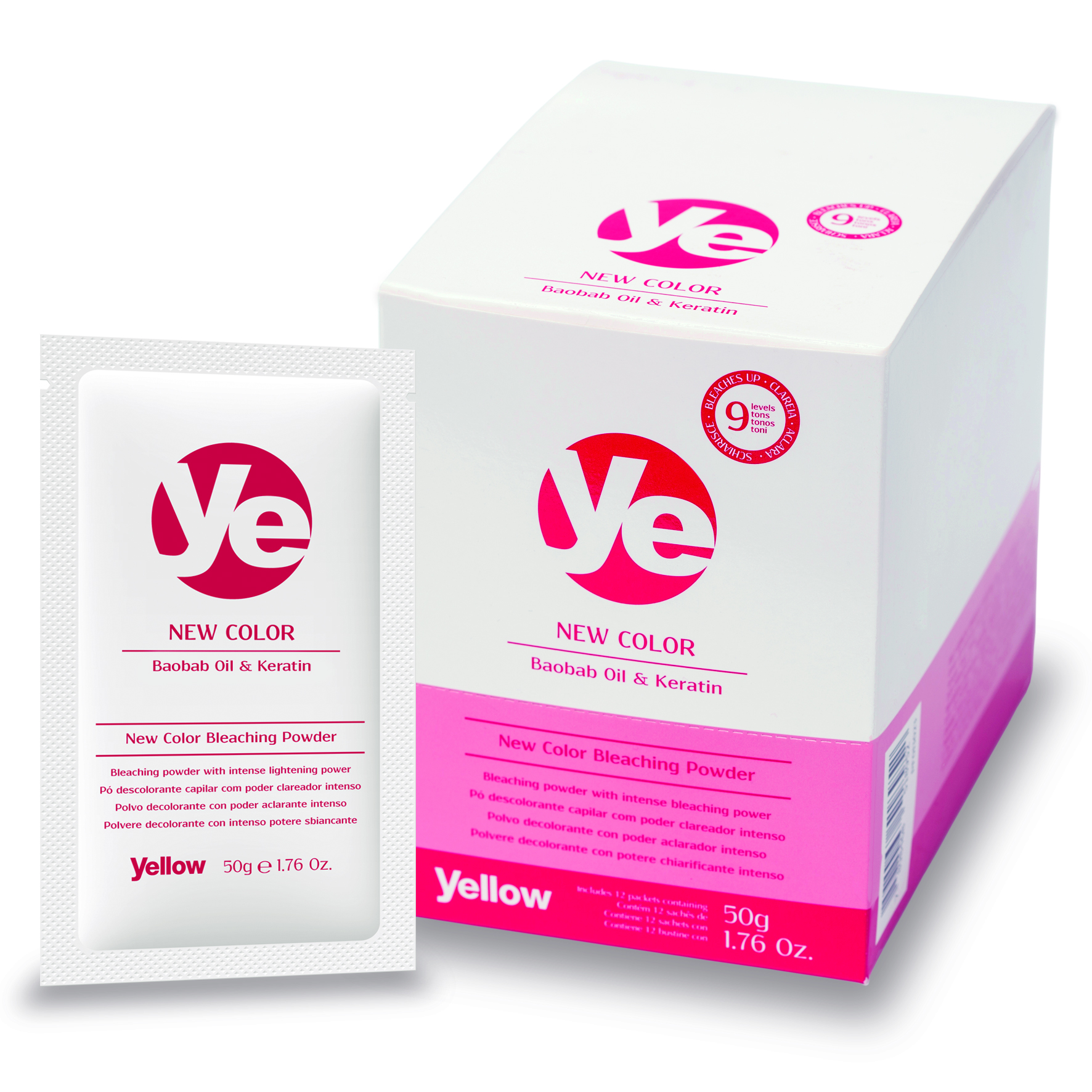 Ye New Color Bleaching Powder Sachet - R$ 126,50