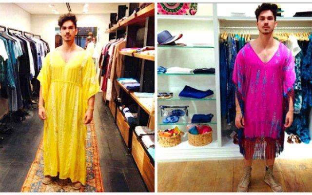 Moda e Gênero: um cara entra em 10 lojas e prova 20 looks femininos