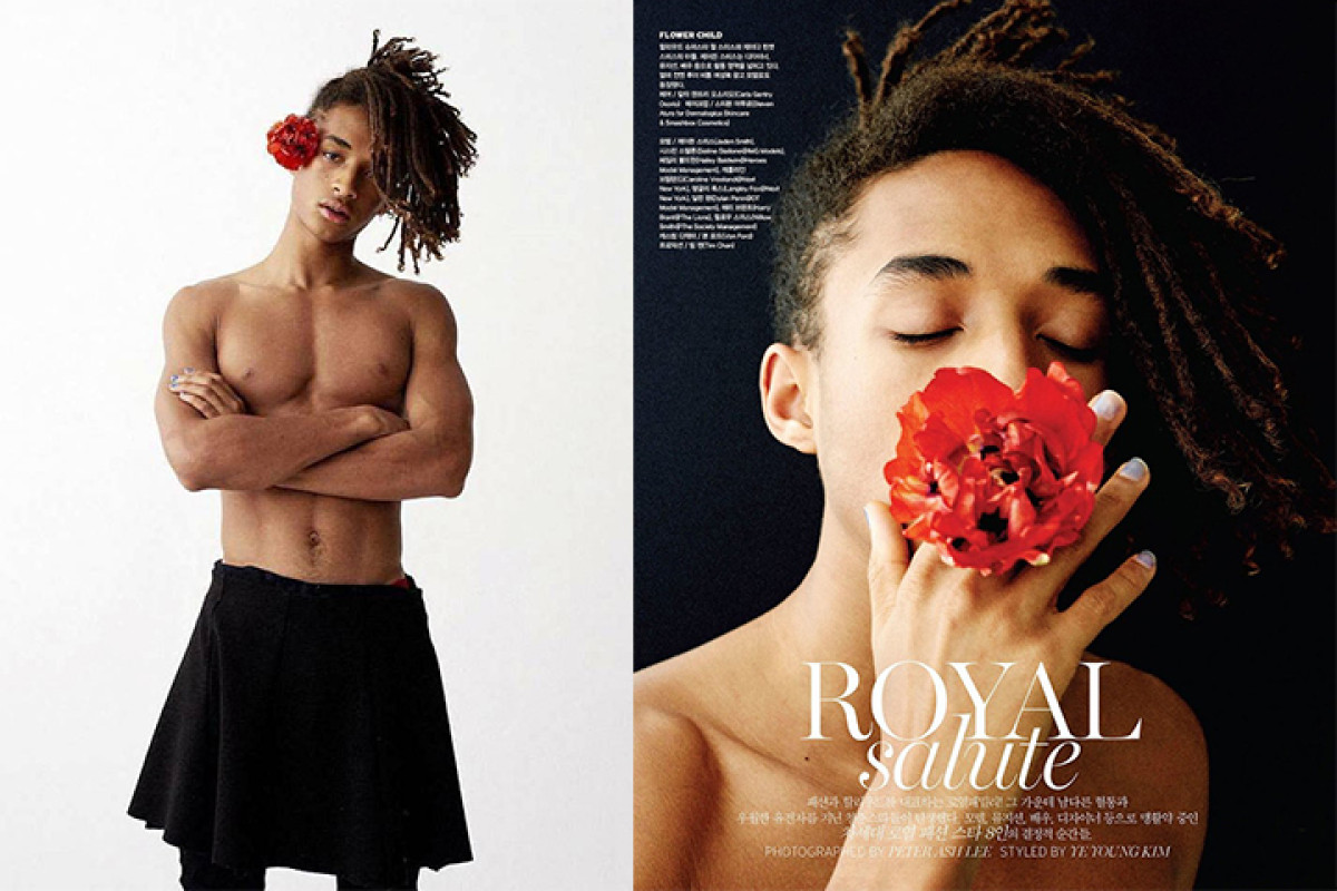 Jaden Smith posa para Vogue Korea ao estilo Genderless