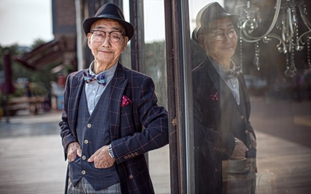 Agricultor chinês vira fashionista aos 85 anos