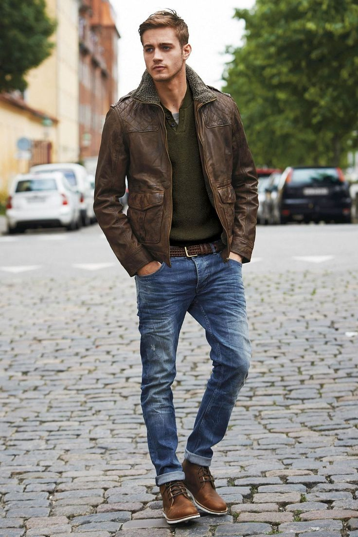 military-jacket-v-neck-sweater-crew-neck-t-shirt-jeans-boots-belt-original-3771
