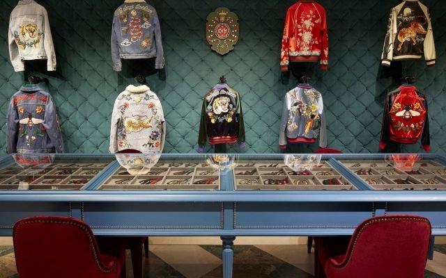 Gucci apresenta serviço de customização de Jaquetas