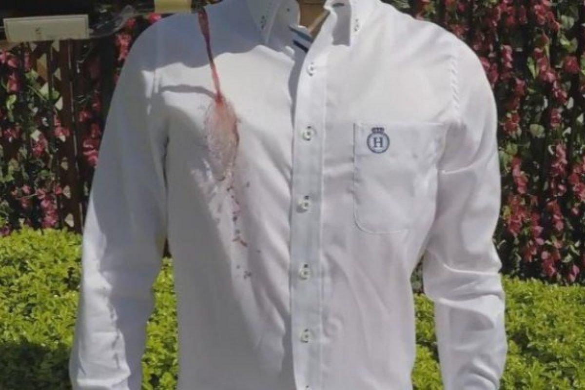 Marca brasileira cria camisa que não amassa, não suja e não cheira