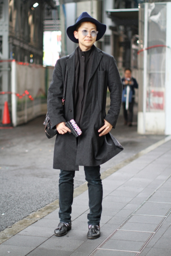 Street Style and antendee fashion at Mercedese Benz Fashion Week Tokyo 2016 A/W