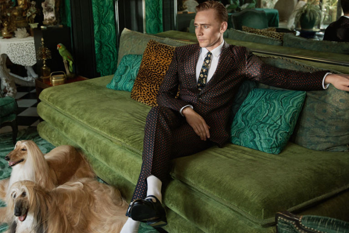 Gucci traz Tom Hiddleston para campanha Cruise 2017