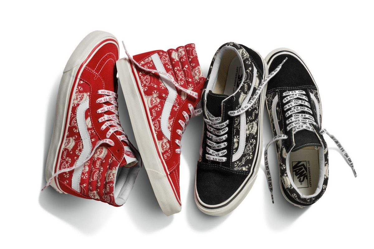 Vans traz sneakers com prints natalinos para as festas de final de ano