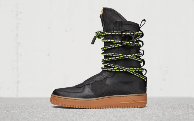 Nike Special Field Air Force 1 High traz cordão Customizável