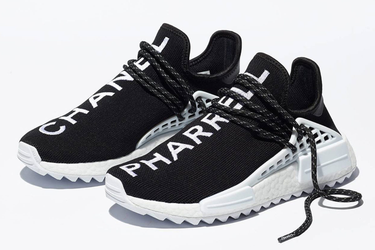 Pharrell Williams e Adidas Originals lançam versão de Luxo do NMD com a Chanel