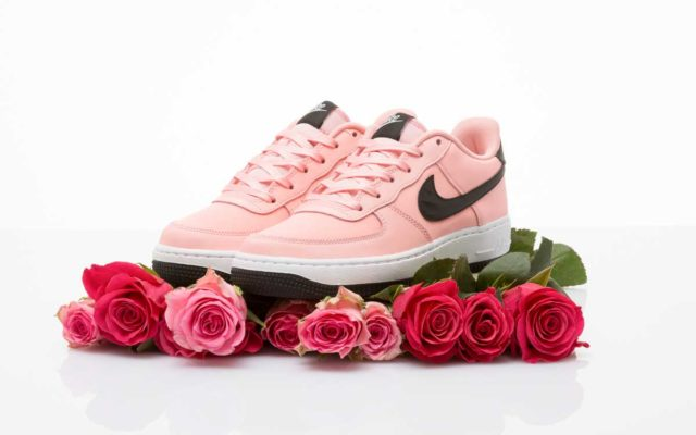 Nike traz Air Force 1 Rosa para o Valantine's Day