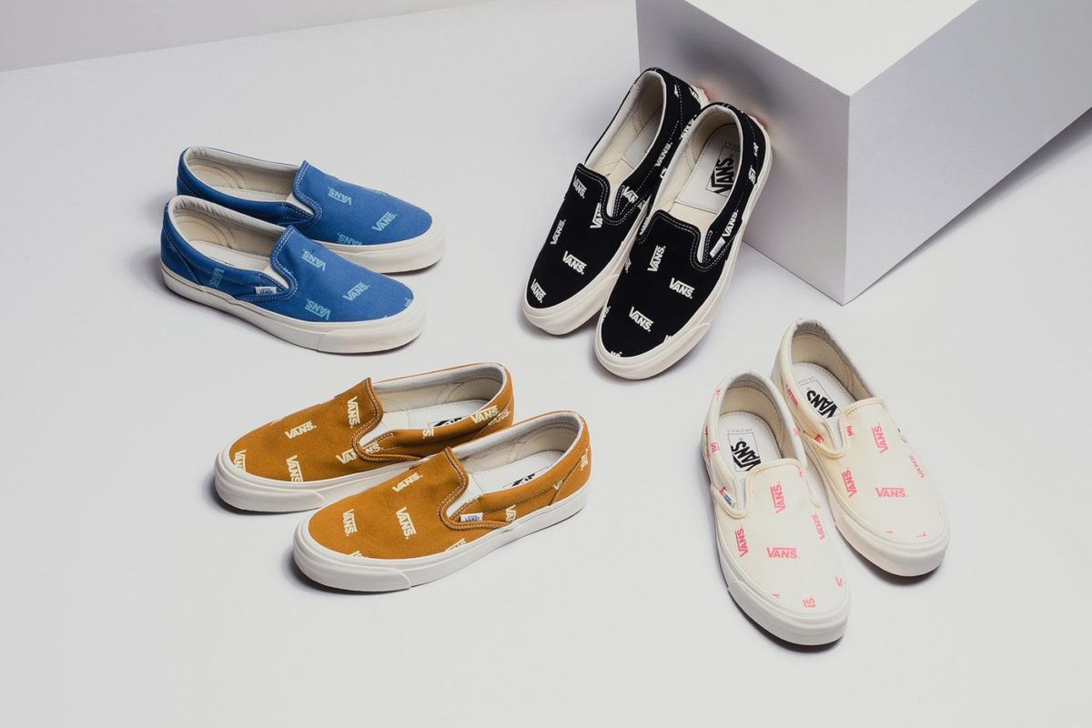 Vans traz novo Slip-On com Multi-Logo