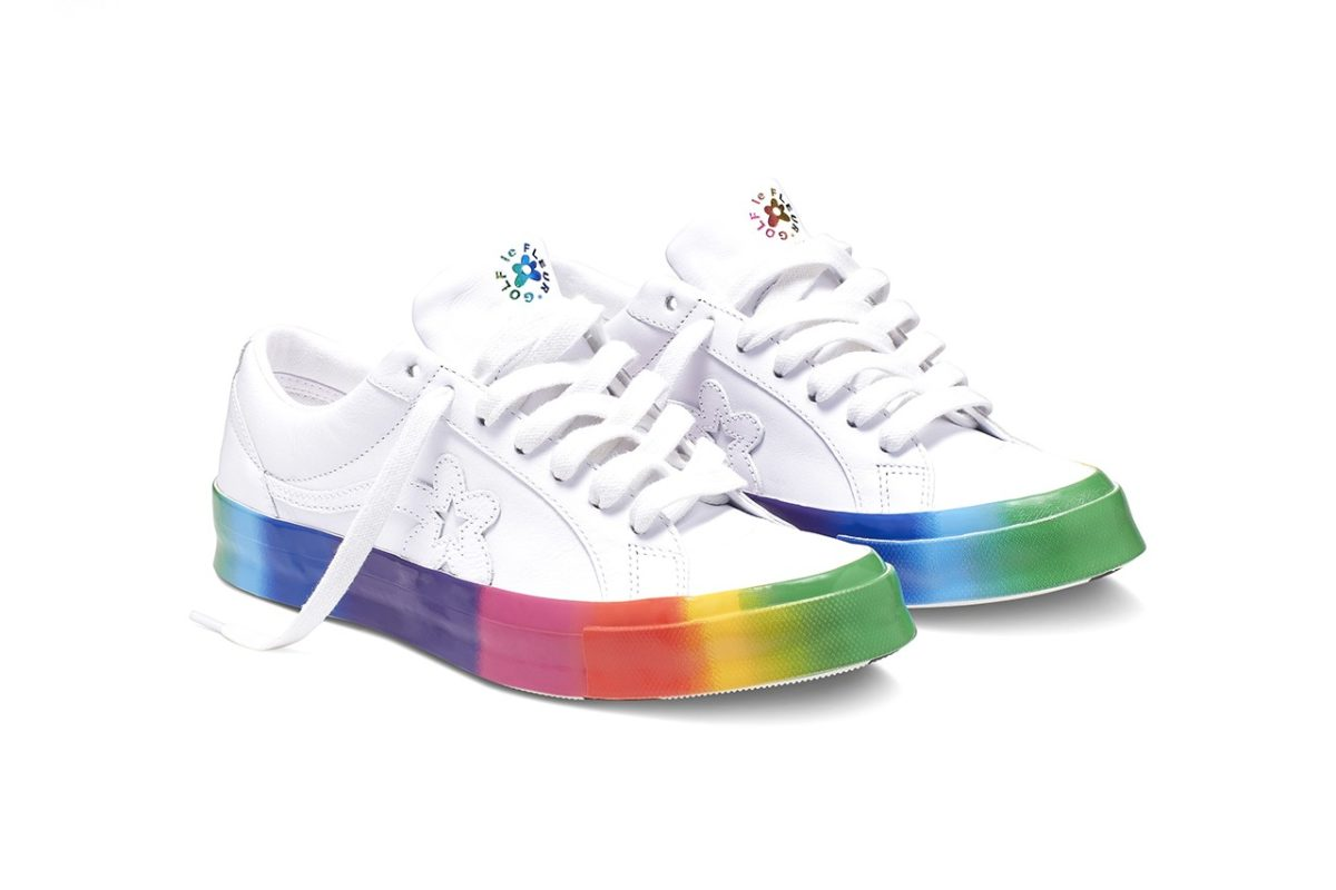 Converse traz o Rainbow GOLF le FLEUR* do Tyler, The Creator para o Pride Month
