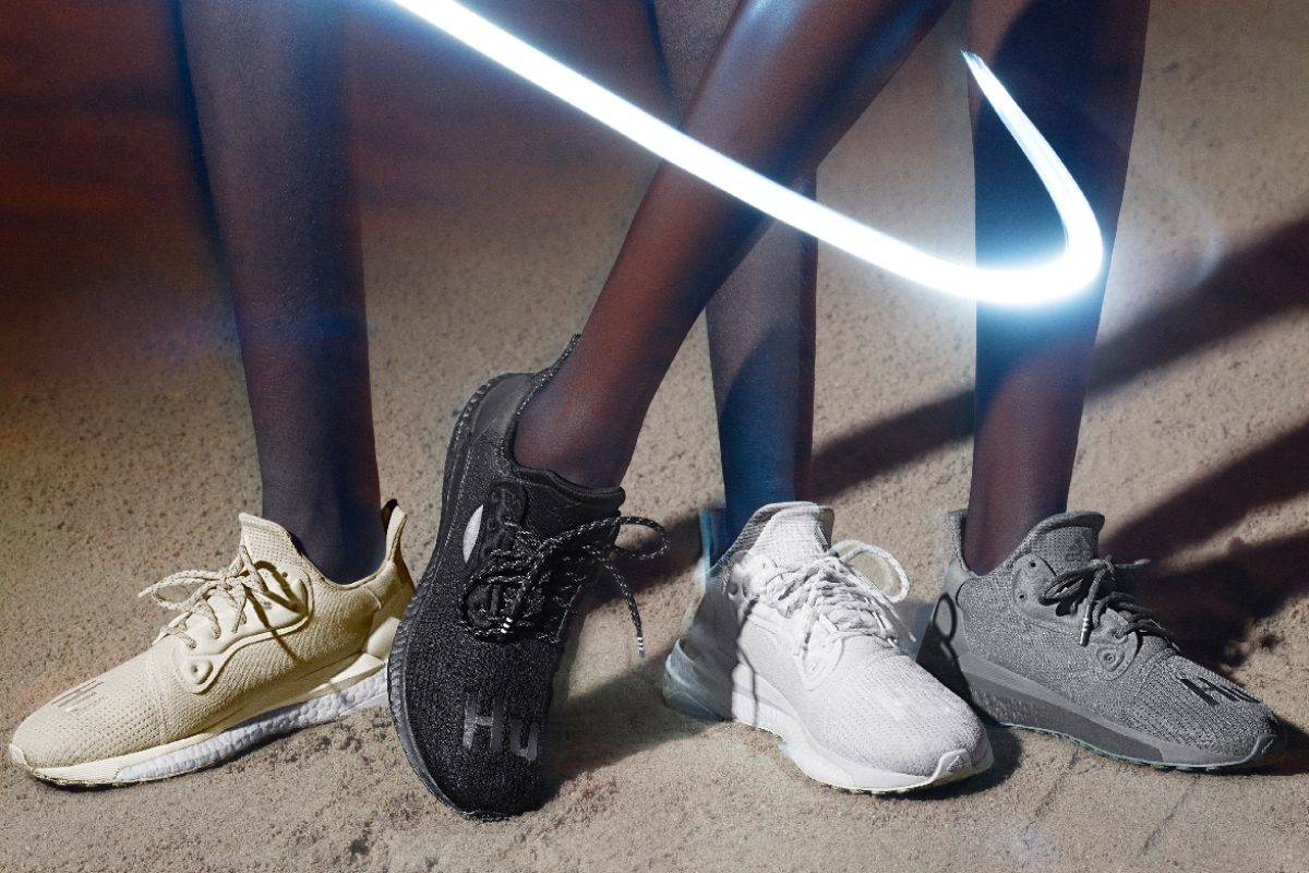 Adidas Originals e Pharrell Williams apresentam o SolarHu GreyScale