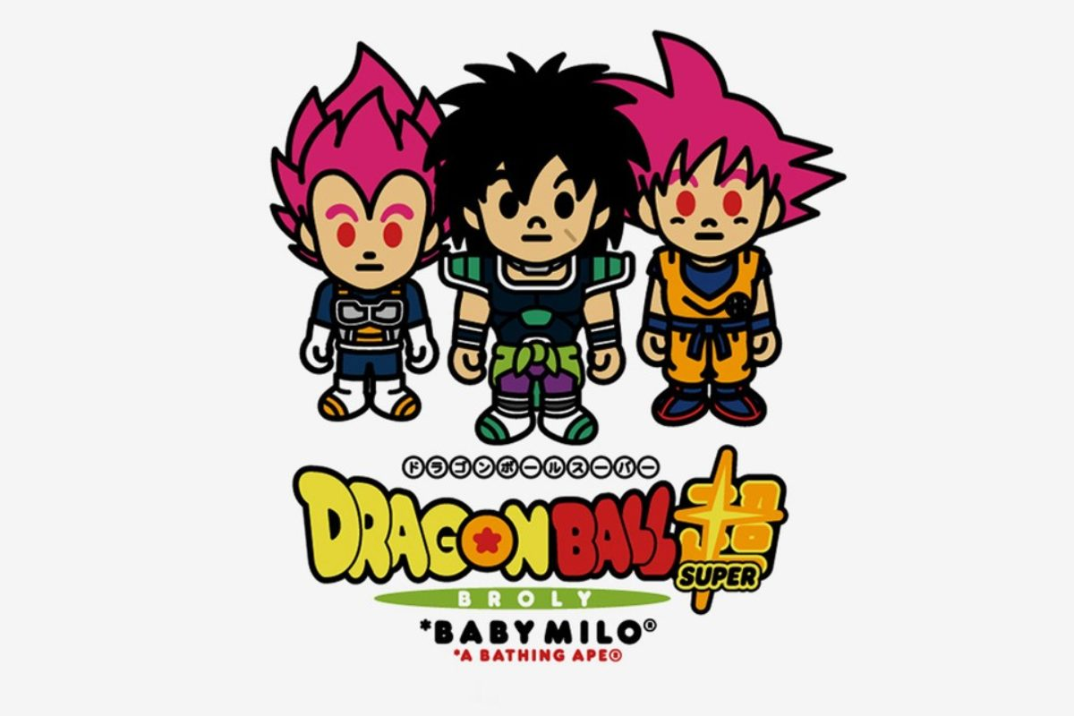 BAPE x Dragon Ball Super