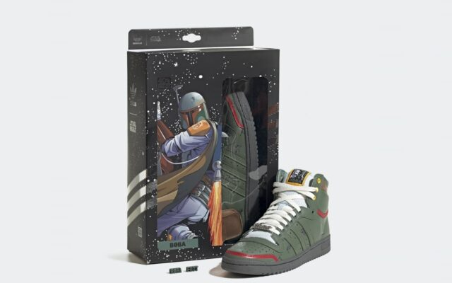 "Adidas traz ""Top Ten Hi Boba Fett"" inspirado no Star Wars"