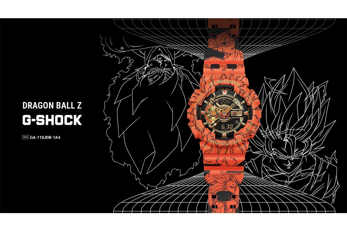 Casio G-Shock traz collab limitada com Dragon Ball Z
