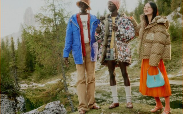 Gucci faz parceria com marca The North Face
