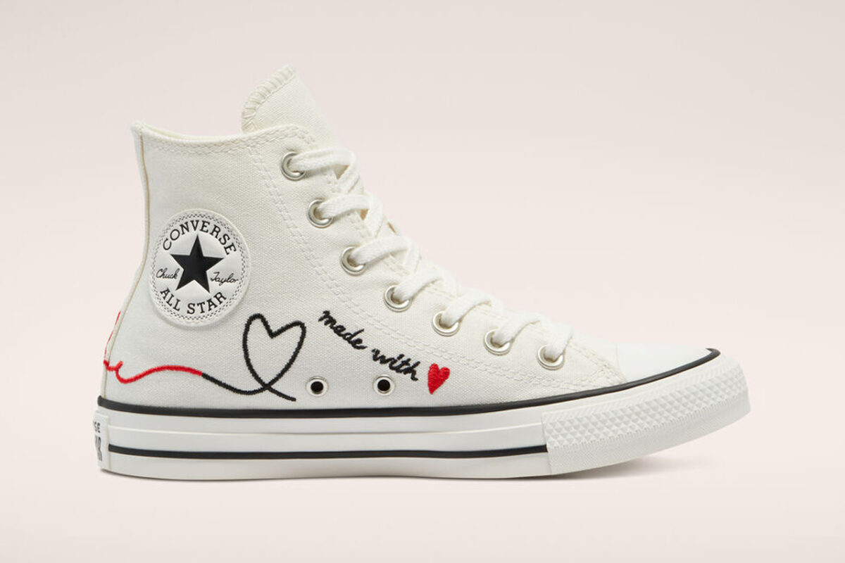 "Converse traz o pack ""Made With Love"" para o Valentine's Day"